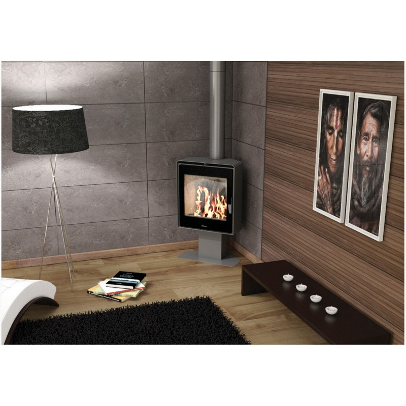 po le bois lacunza atlantic 611 12 kw. Black Bedroom Furniture Sets. Home Design Ideas