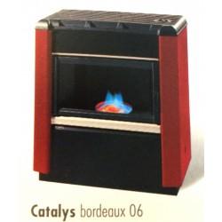 Poêle à Fioul SUPRA CATALYS 9 Bordeaux 9 kW
