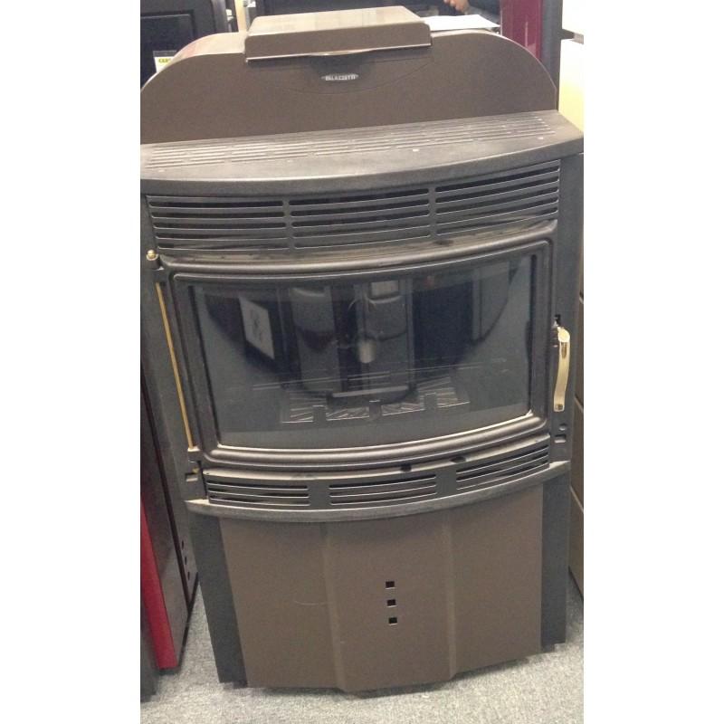 po le granul s palazzetti ecofire maxi marron 12 kw. Black Bedroom Furniture Sets. Home Design Ideas