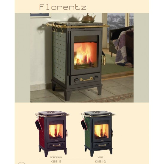 po le bois chemin e franco belge florentz habillage c ramique bordeaux 7 kw. Black Bedroom Furniture Sets. Home Design Ideas