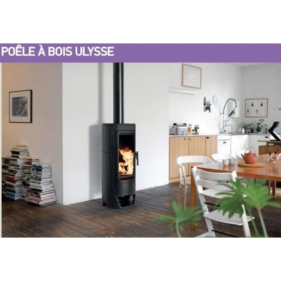 po le bois supra ulysse 10 kw. Black Bedroom Furniture Sets. Home Design Ideas