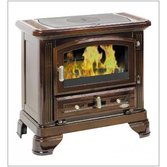 po le bois godin petit jurassien brun majolique 7 5 kw. Black Bedroom Furniture Sets. Home Design Ideas