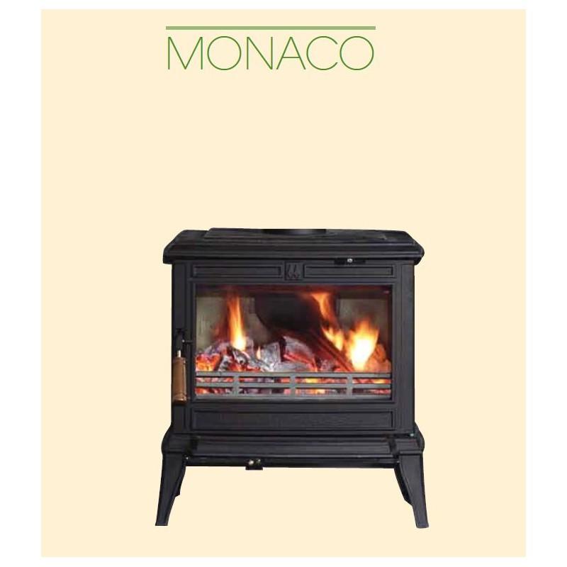 Poêle à bois FRANCOBELGE Monaco 8 kW