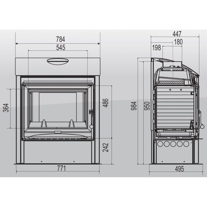 poele supra everest. Black Bedroom Furniture Sets. Home Design Ideas