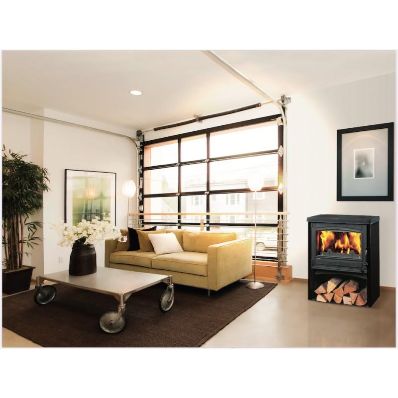 po le bois supra chatenois 03 ivoire 9 kw. Black Bedroom Furniture Sets. Home Design Ideas