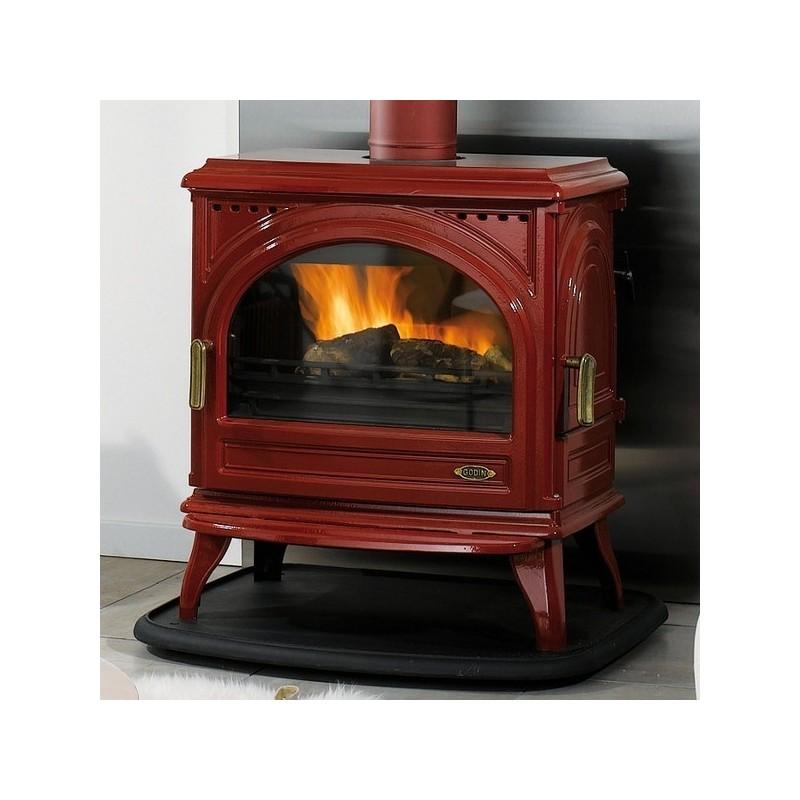 po le bois godin carvin rubis 13 kw. Black Bedroom Furniture Sets. Home Design Ideas