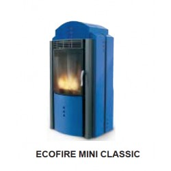 Poêle à granules PALAZZETTI ECOFIRE CLASSIC Mini Bleu 8 kW